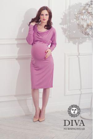 Платье для беременных Diva Nursingwear Paola, цвет Antico