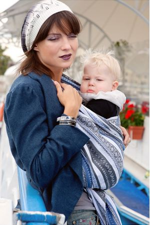 Слинг Ellevill Zara Tricolor Blue