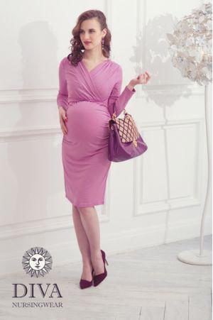 Платье для беременных и кормящих Diva Nursingwear Lucia, цвет Antico