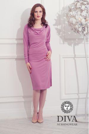 Платье для беременных и кормящих Diva Nursingwear Paola, цвет Antico