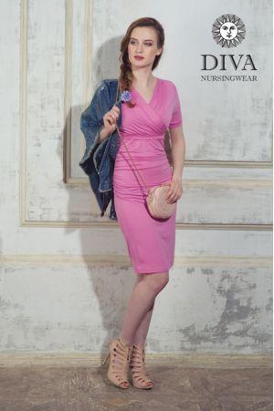 Платье для беременных и кормящих Diva Nursingwear Lucia, цвет Rose