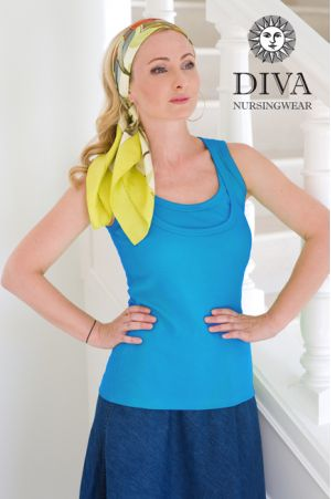 Топ Diva Nursingwear Eva, цвет Ceruleo
