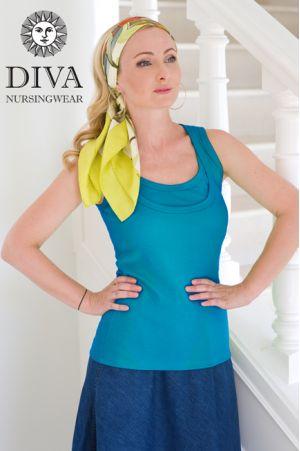 Топ для беременных Diva Nursingwear Eva, цвет Turchese