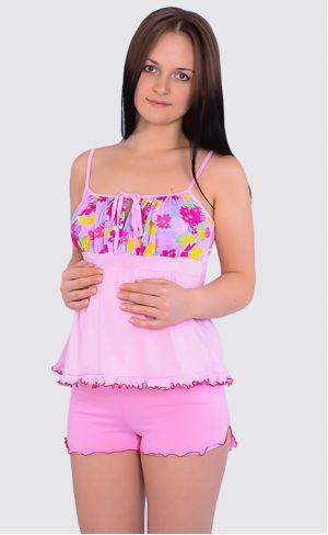 Пижама для беременных и кормящих Л044