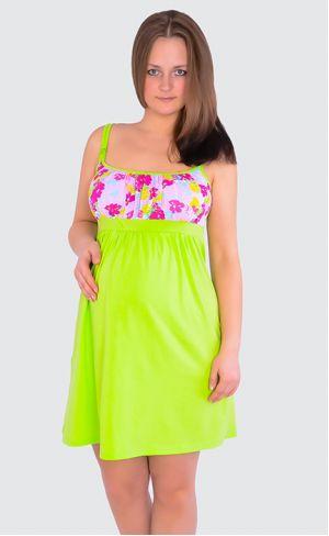 Ночная сорочка для беременных и кормящих Л018